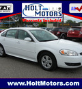 chevrolet impala 2010 white sedan lt flex fuel 6 cylinders front wheel drive automatic 55321