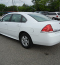 chevrolet impala 2010 white sedan lt flex fuel 6 cylinders front wheel drive automatic 55321