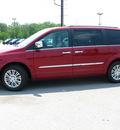 chrysler town and country 2011 red van touring l flex fuel 6 cylinders front wheel drive automatic 45840
