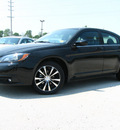 chrysler 200 2011 black sedan s flex fuel 6 cylinders front wheel drive automatic 45840