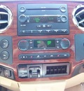 ford f 250 super duty 2008 red lariat king ranch diesel 8 cylinders 4 wheel drive automatic 44024