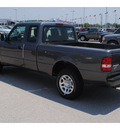 ford ranger 2011 dk  gray pickup truck xlt gasoline 6 cylinders 2 wheel drive 5 speed automatic 77388