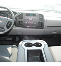 chevrolet silverado 1500 2011 dk  blue work truck flex fuel 8 cylinders 2 wheel drive 4 spd auto,elec cntlled 77090