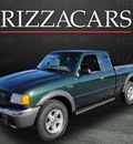 ford ranger 2002 green xlt off road 4x4 gasoline 6 cylinders 4 wheel drive automatic with overdrive 60546