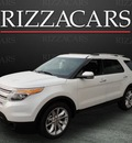 ford explorer 2011 white suv limited gasoline 6 cylinders 2 wheel drive automatic with overdrive 60546