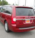 chrysler town and country 2011 red van touring l flex fuel 6 cylinders front wheel drive automatic 99212
