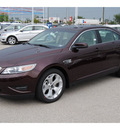 ford taurus 2011 gray sedan sel gasoline 6 cylinders front wheel drive 6 speed automatic 77388