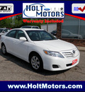 toyota camry 2011 white sedan gasoline 4 cylinders front wheel drive automatic 55321