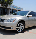 nissan maxima 2006 beige sedan sl gasoline 6 cylinders front wheel drive automatic 76205