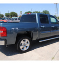 chevrolet silverado 1500 2011 blue lt flex fuel 8 cylinders 4 wheel drive automatic 77090