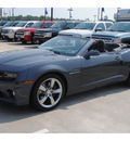 chevrolet camaro convertible 2011 dk  gray ss gasoline 8 cylinders rear wheel drive automatic 77090