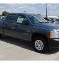chevrolet silverado 1500 2011 blue work truck flex fuel 8 cylinders 2 wheel drive 4 spd auto,elec cntlled 77090