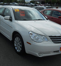 chrysler sebring 2010 white sedan limited gasoline 4 cylinders front wheel drive 4 speed automatic 99212