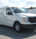 nissan n v 2500 2012 white van s gasoline 6 cylinders rear wheel drive automatic 33884