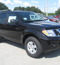 nissan pathfinder 2011 espresso black suv s gasoline 6 cylinders 2 wheel drive automatic 33884