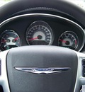 chrysler 200 2011 red sedan touring gasoline 4 cylinders front wheel drive not specified 44024