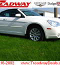 chrysler sebring 2010 white touring flex fuel 6 cylinders front wheel drive automatic 45840