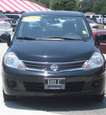 nissan versa 2010 black sedan gasoline 4 cylinders front wheel drive automatic 33884
