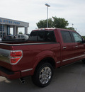 ford f 150 2011 red platinum gasoline 6 cylinders 2 wheel drive automatic 76205