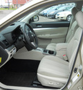 subaru legacy 2010 gold sedan 2 5i premium gasoline 4 cylinders all whee drive autostick 55811