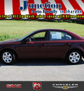 hyundai sonata 2008 maroon sedan gls gasoline 4 cylinders front wheel drive not specified 44024