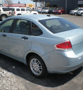 ford focus 2009 lt blue sedan se gasoline 4 cylinders front wheel drive automatic with overdrive 13212