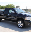 chevrolet silverado 1500 2011 black lt flex fuel 8 cylinders 4 wheel drive automatic 77090