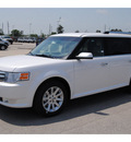 ford flex 2011 white sel gasoline 6 cylinders front wheel drive automatic 77388