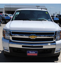 chevrolet silverado 1500 2011 white lt flex fuel 8 cylinders 4 wheel drive automatic 77090