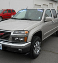 gmc canyon 2009 pewter sle1 gasoline 5 cylinders 4 wheel drive 4 speed automatic 99208