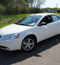 pontiac g6 2008 white sedan g6 gasoline 6 cylinders front wheel drive 4 speed automatic 44024