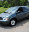 chrysler town and country 2003 green van town country gasoline 6 cylinders front wheel drive 4 speed automatic 44024