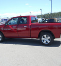 ram ram pickup 1500 2011 dp chr red cp big horn gasoline 8 cylinders 4 wheel drive 5 speed automatic 99212