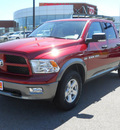 ram ram pickup 1500 2011 dp chr red cp outdoorsman gasoline 8 cylinders 4 wheel drive 5 speed automatic 99212