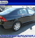 honda civic 2008 black sedan lx gasoline 4 cylinders front wheel drive automatic 12401