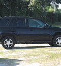 chevrolet trailblazer 2008 black suv lt gasoline 6 cylinders 2 wheel drive automatic 33884