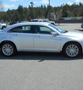 chrysler 200 2011 silver sedan limited flex fuel 6 cylinders front wheel drive shiftable automatic 99212