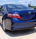 toyota camry 2007 blue sedan se gasoline 4 cylinders front wheel drive automatic 34788