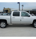 chevrolet silverado 1500 2011 silver ltz flex fuel 8 cylinders 2 wheel drive automatic with overdrive 77090