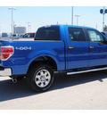 ford f 150 2011 blue xlt rad gasoline 6 cylinders 4 wheel drive automatic 77388