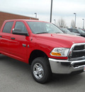 ram ram pickup 2500 2011 red st diesel 6 cylinders 4 wheel drive not specified 99212