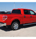 ford f 150 2011 red xlt flex fuel 8 cylinders 2 wheel drive automatic 77388
