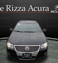 volkswagen passat 2007 black wagon luxury 4motion awd gasoline 6 cylinders all whee drive automatic with overdrive 60462