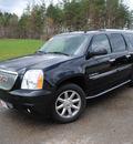 gmc yukon xl 2008 black suv denali gasoline 8 cylinders all whee drive shiftable automatic 44024