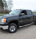 gmc sierra 2500hd 2009 black sle gasoline 8 cylinders 4 wheel drive 6 speed automatic 44024