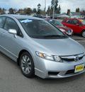 honda civic 2009 silver sedan lx gasoline 4 cylinders front wheel drive 5 speed automatic 99208