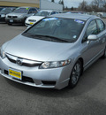 honda civic 2009 silver sedan lx gasoline 4 cylinders front wheel drive 5 speed automatic 99208
