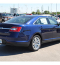 ford taurus 2011 dk  blue sedan limited gasoline 6 cylinders front wheel drive 6 speed automatic 77388