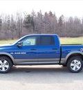 ram ram pickup 1500 2011 blue gasoline 8 cylinders 4 wheel drive not specified 44024