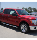 ford f 150 2011 red xlt gasoline 6 cylinders 2 wheel drive automatic 77388